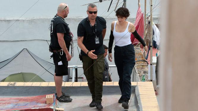 Andalucia Destino de Cine - Reed Morano, directora de 'El cuento de la criada' rueda en Cádiz 'The Rythm Section'