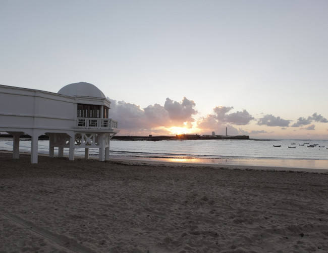 Andalucia Destino de Cine - Playa de La Caleta