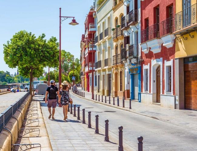 Andalucia Destino de Cine - Calle Betis
