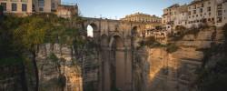 Andalucia Destino de Cine - Puente Nuevo y Plaza de España