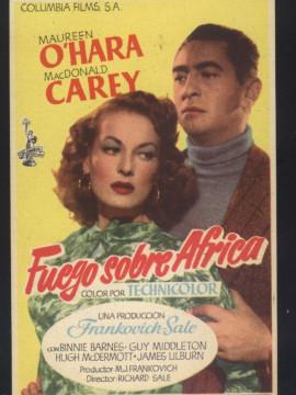 Andalucia Destino de Cine - Fuego sobre África
